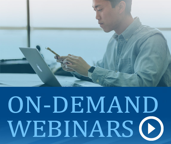 On-Demand Webinars