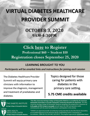 diabetes virtual summit 2020